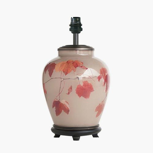 RHS Collingridge Vine Small Glass Table Lamp