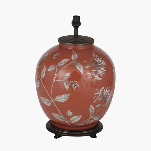 Honeysuckle Large Glass Table Lamp
