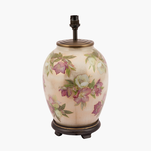 Hellebore Medium Glass Table Lamp