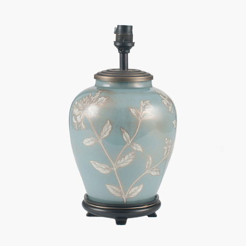 Honeysuckle Small Glass Table Lamp