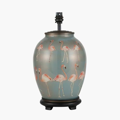 Flamingo Medium Glass Table Lamp