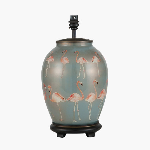 Flamingo Medium Glass Table Lamp
