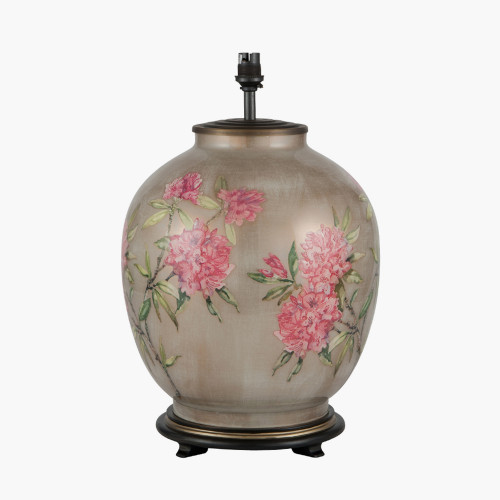 Rhododendron Large Glass Table Lamp