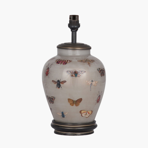 RHS Bugs Small Glass Table Lamp