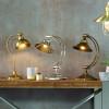 Kensington Nickel Metal Arched Arm Task Table Lamp