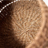 Woven Natural Seagrass S/3 Round Baskets