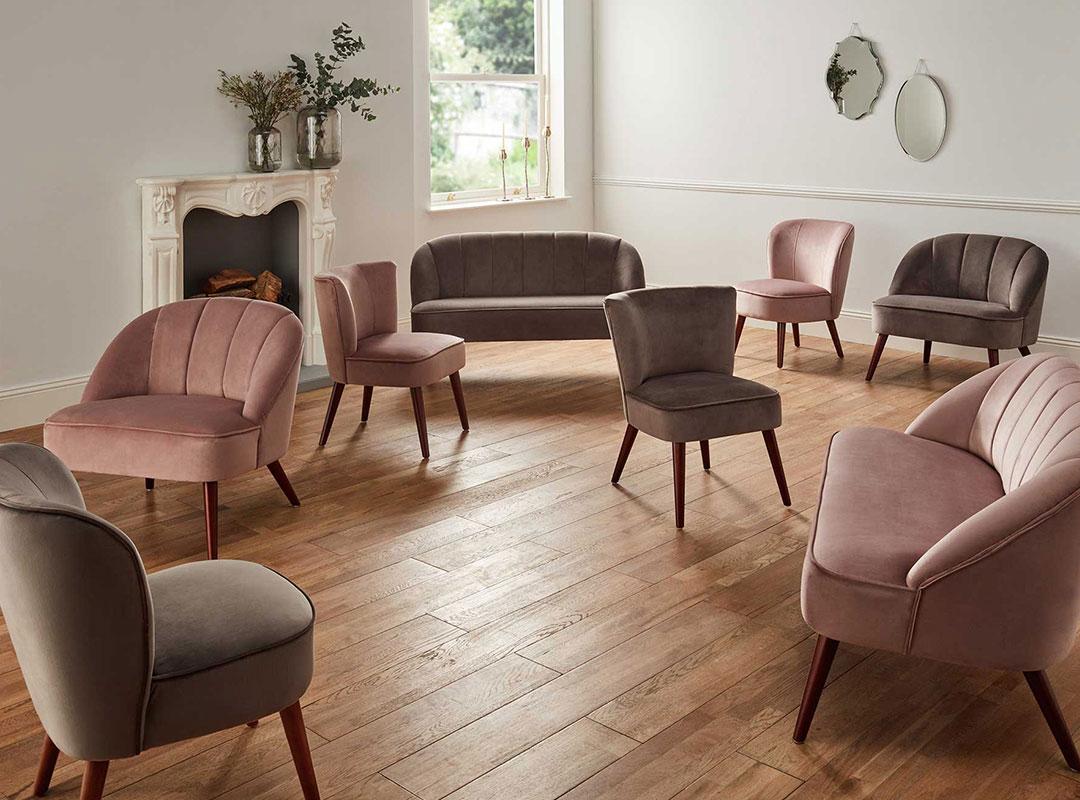 Velvet Furniture Collection