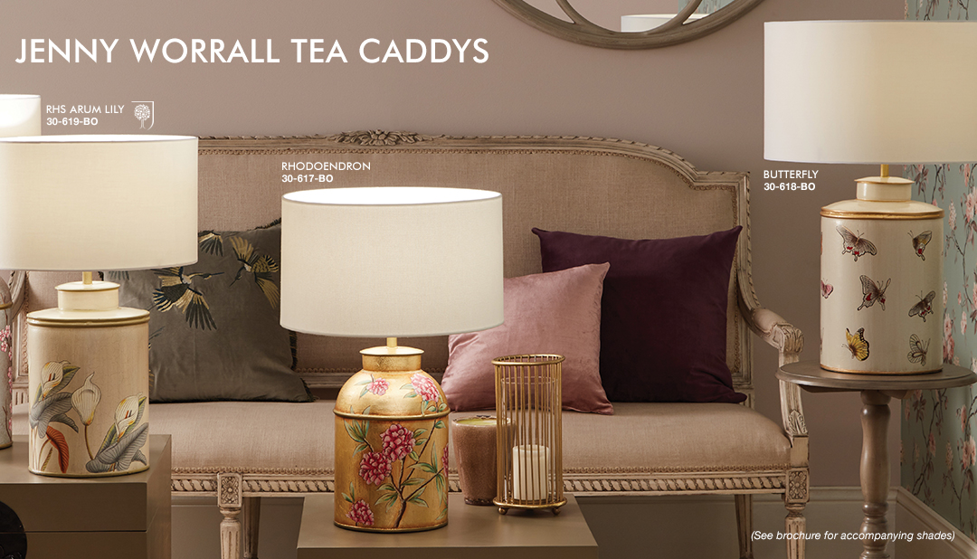 Jenny Worrall Tea CaddysJenny Worrall Tea Caddys