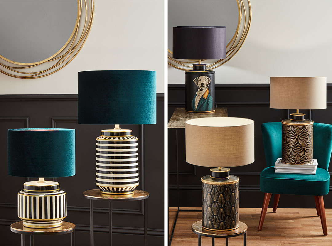 Decorated Table Lamps